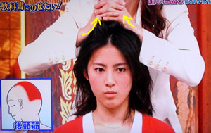 頭皮マッサージ方法-教科書にのせたい